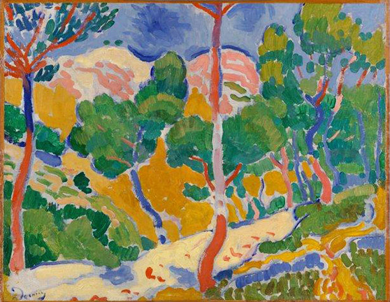 Landscape of the Midi, Andre Derain