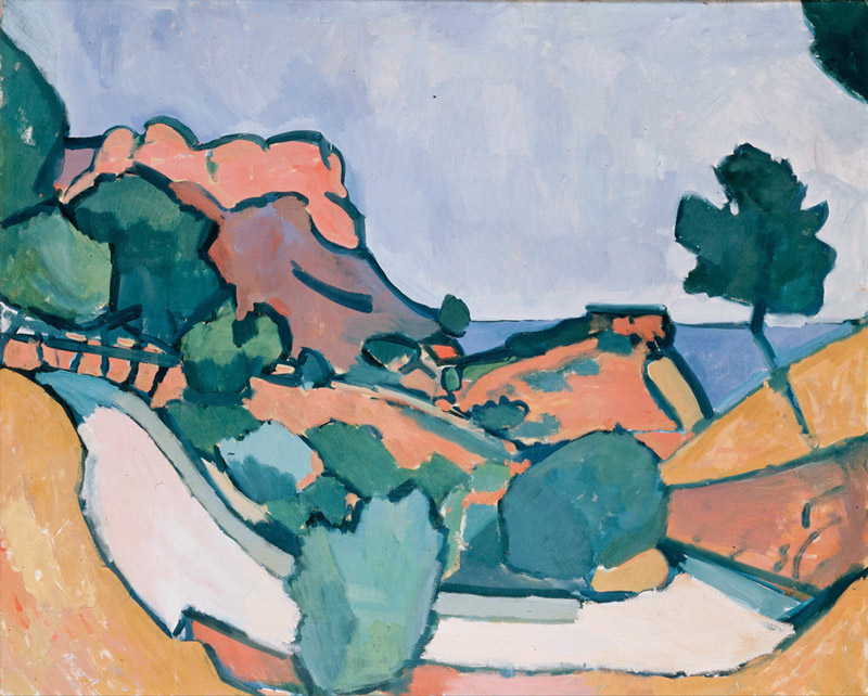 Road in the Mountains, Andre Derain
