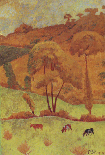 Synchromy in yellow, Paul Serusier